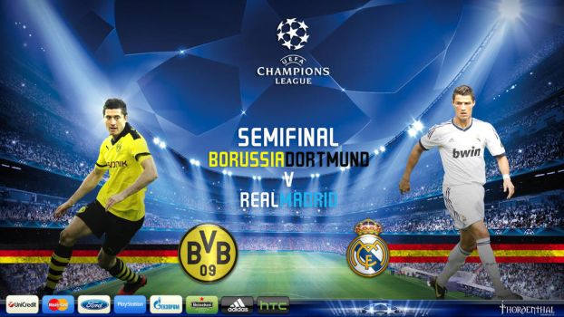 UEFA Champions League Semifinals 2013 by thordenthal
