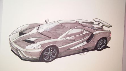 Ford GT by rickster3rd
