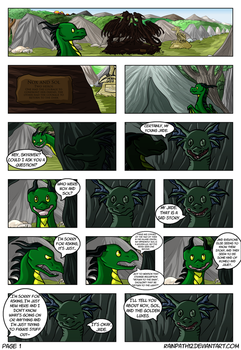 The Story of Nox and Sol - Page One by Rainpath12