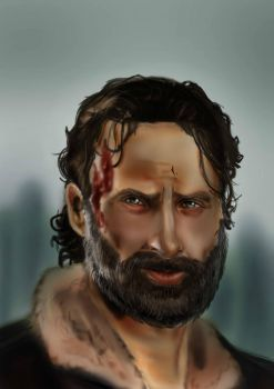 Rick Grimes by Axels-inferno