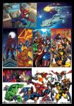 Marvel Heroes 1 Pg1 - Cols by KatCardy