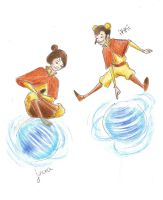 Airbending Kids by compoundbreadd