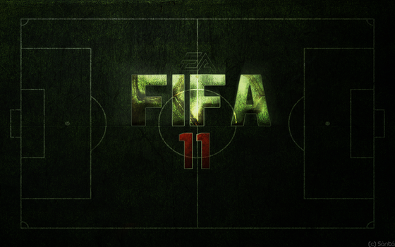 FIFA 11 Fan Wallpaper by SantaKlau