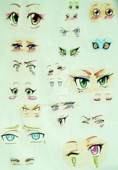 21 different eyes ? by Fuugis