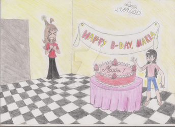Happy B-day, Maria by lidianne