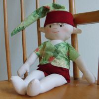 Xmas Elf Doll by Shpout