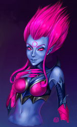 Evelynn (League of legends) by AnnaBeck