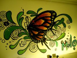 the french butterfly by mangovioleta
