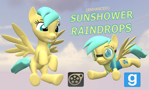 [DL] (Enhanced) Raindrops by Pika-Robo
