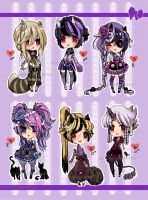 ChibiAdopts-12: CLOSED by mostlyniceAdopts
