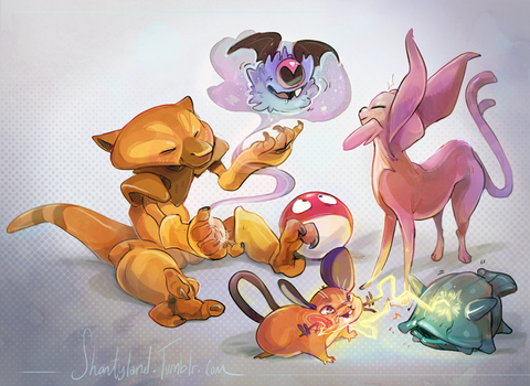 Pokemon are weird by colonel-strawberry