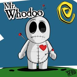 Mr. Whodoo The Little Voodoo by TheUrbanDecay
