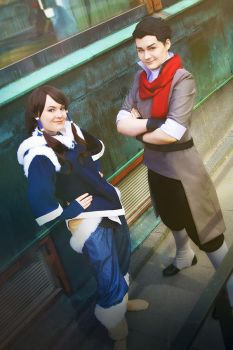 The Legend of Korra - You Think You Can Beat Us? by YumiKoyuki