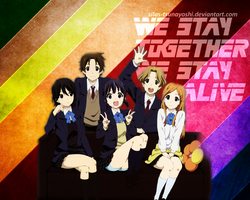 Kokoro Connect - WALLPAPER by Silas-Tsunayoshi
