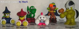 Ceramic Super Mario RPG - Pt2 by HeyLookASign