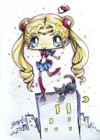 Sailor Moon Prisma Chibi by StarMasayume