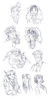 Random HP faces_2 by roby-boh