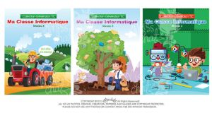 Ma Classe Informatique Book covers by MissChatZ