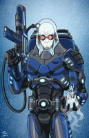 Mr. Freeze 2027 (Earth-27) commission by phil-cho