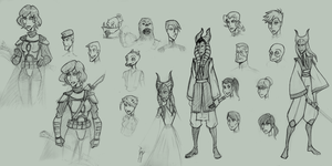 SW RPG Misc Characters 1 by mindflenzing