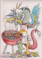 Discord's BBQ by The-Wizard-of-Art