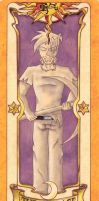 Herobrine Clow Card - The Courage by Juancar28