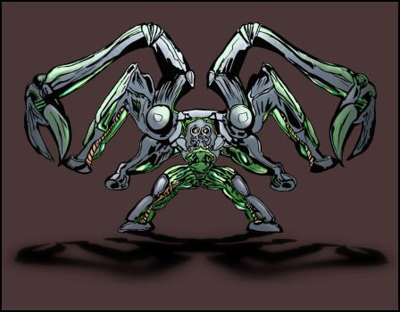 Orgo-mecha-crab-bot by RitchieDalto