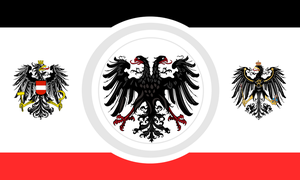 Greater german flag idea by Arminius1871