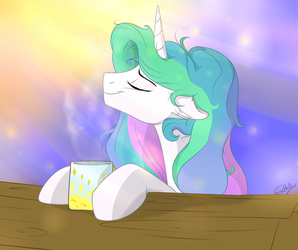 Morning sunny tea. by Rutkotka