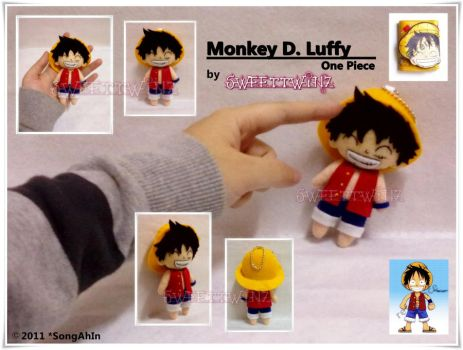 OnePiece.. Monkey D. Luffy by SongAhIn