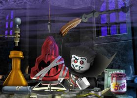 LEGO Monster Fighters - Experiments by RobKing21