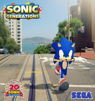 Sonic - Escape From The City by andystudio29
