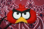 Red Angry Bird Sleep mask by Rekslare