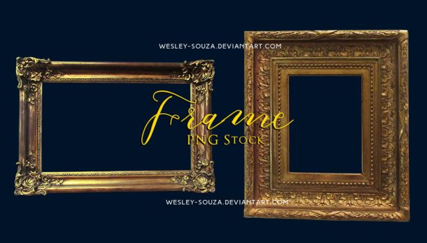 Frames - PNG Stock by Wesley-Souza