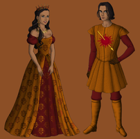 Oberyn and Elia by alcanis-ivennil