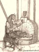 The Blacksmith by RussellTuller