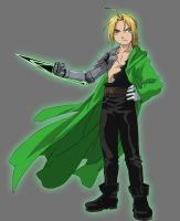 Green Lantern Ed Elric by Lord-Lycan