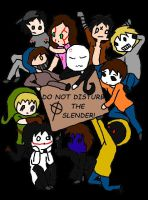 Do Not Disturb The Slender! by EllaLovesProxies