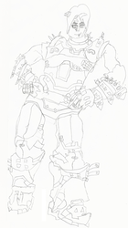 Zarya Industrial Skin (Drawing) by gabrielwoj