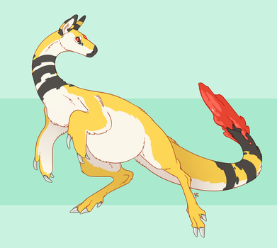 Ampharos by Susiron