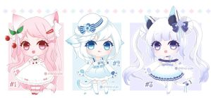 [Closed] Adoptables 54 Auction! by Shiina-Yuki