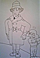 Uh oh uncle gadget no! by Ashartz123