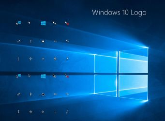 Windows 10 Logo Cursors by alexgal23