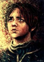 Arya Stark. by VarshaVijayan