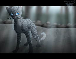 This is MY Stick. - Jayfeather by Kocurzyca