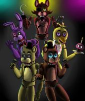Five Nights At Freddy's by Igrisa