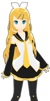 MMD RxNxD Future Style Rin Full Body by RinXNeruXD