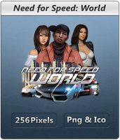 Need for Speed WORLD - Icon by Crussong