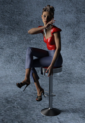 50's Pinup by Doing-it-in-3d