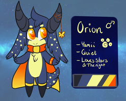 Orion the Yamii - Reference by sinnocturnal